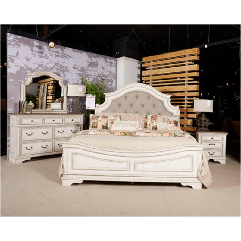 b743 58 ashley furniture realyn king upholstered panel bed