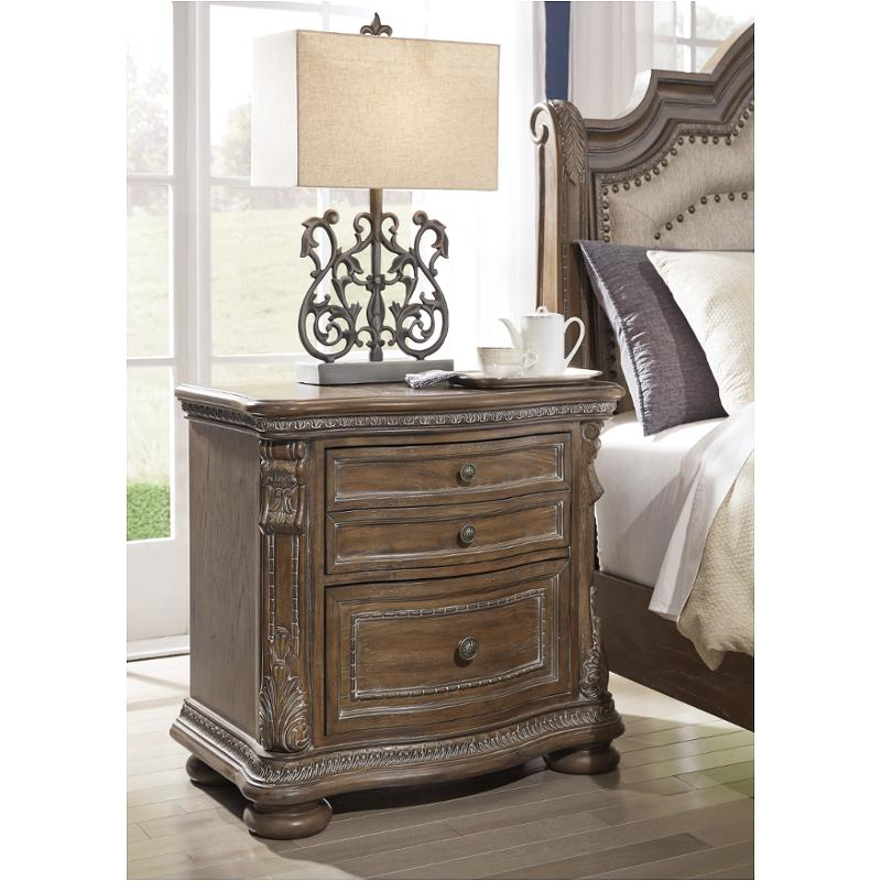 This compact stand can be used as a living room end table or as a bed side stand for bedrooms of all sizes. b803 92 ashley furniture charmond 2 drawer nightstand