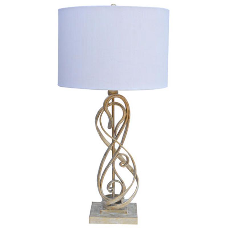 l208174 ashley furniture metal table lamp