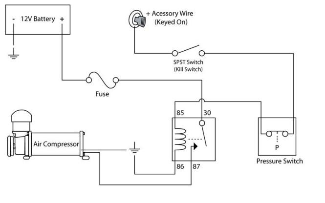 compressor wiring diagram compressor inspiring car wiring diagram ford air compressor starter wiring diagram ford auto wiring on compressor wiring diagram