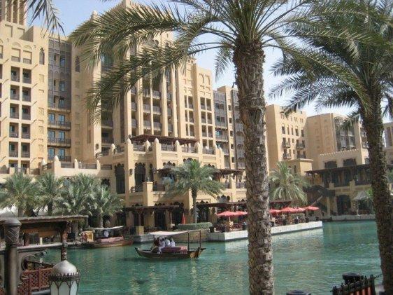 Un hotel din Dubai.