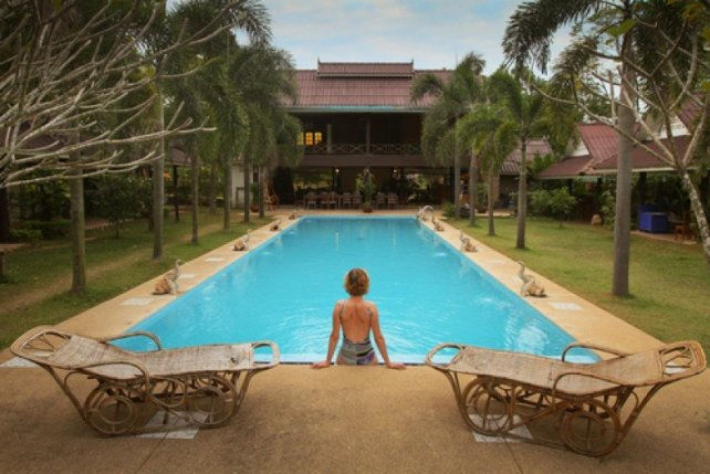 Un hotal spa de lux în Thailanda. #shu#