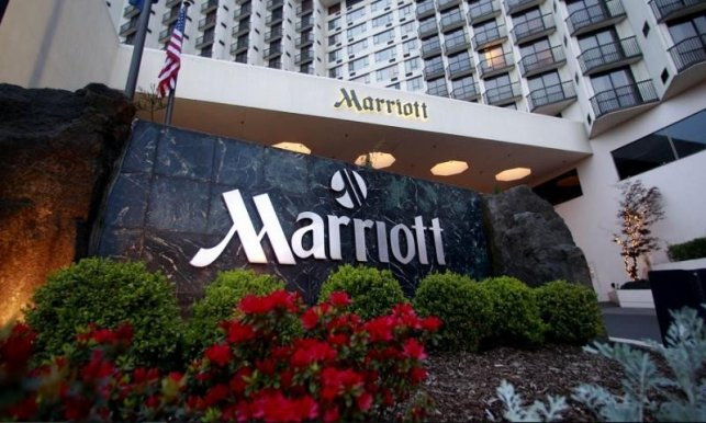 Marriott conduce clasamentul mundial în număr de camere.