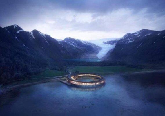 Svart, hotelul circular și durabil care va fi construit în Arctica