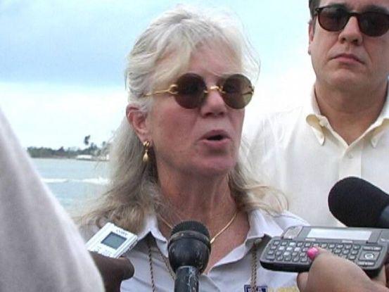 Michele Page, titulara Federației de Companii de Croaziere din Caraibe.