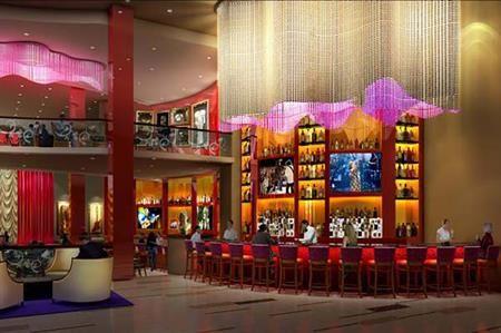 Render al viitorului hotel Hard Rock din Londra, care va fi deschis primăvara viitoare.