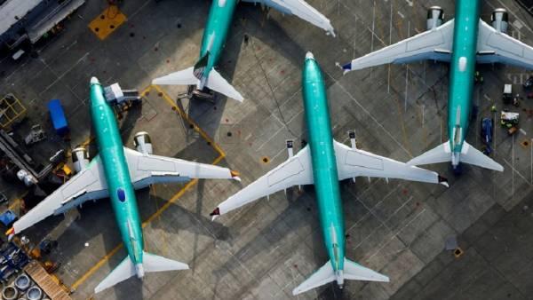 737 MAX, fabrica Boeing din Renton (Fotografie: Lindsey Wasson/Reuters).