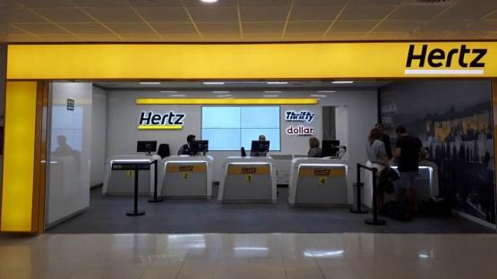 Hertz se declară în faliment în SUA