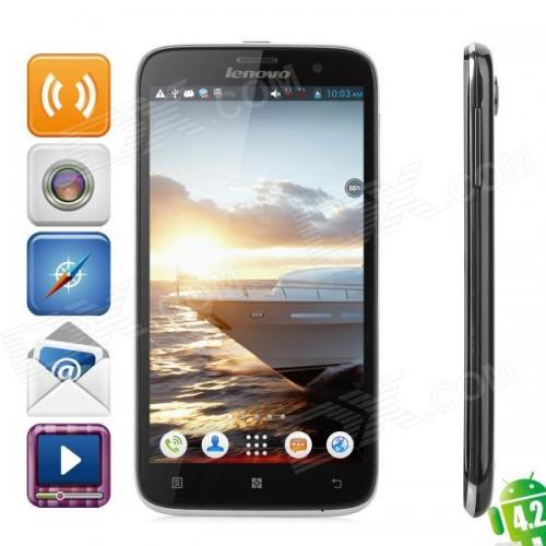 Lenovo A850 Quad-Core Android 4.2 WCDMA Bar Phone w/ 5.5 ...