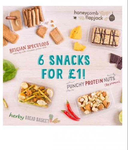 6 Graze snacks for £1 and free delivery (no contract ...