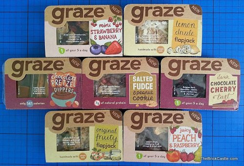 Graze individual snack packs - 59p @ Boots - HotUKDeals