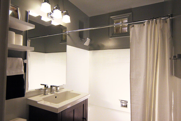 A Small Bathroom Makeover: Before And After