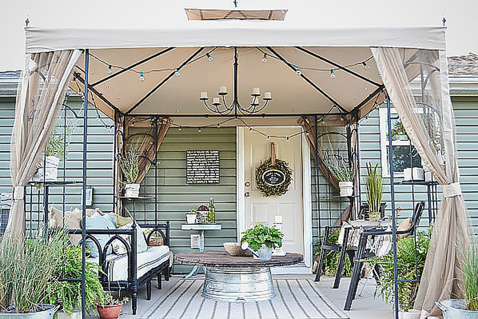 Cool Outdoor Living Space Ideas on a Budget | HouseLogic on Backyard Outdoor Living Spaces id=28365