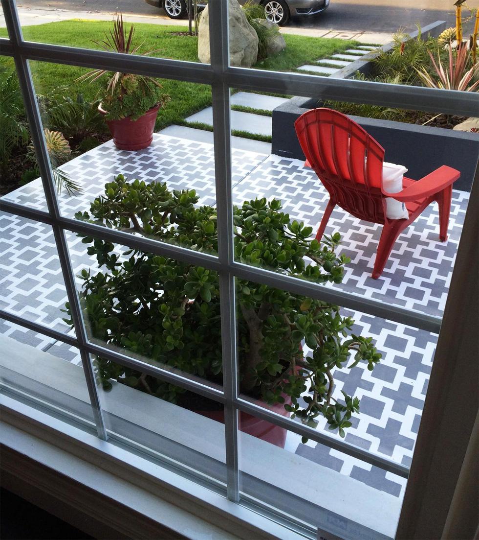 painting concrete patio patio ideas