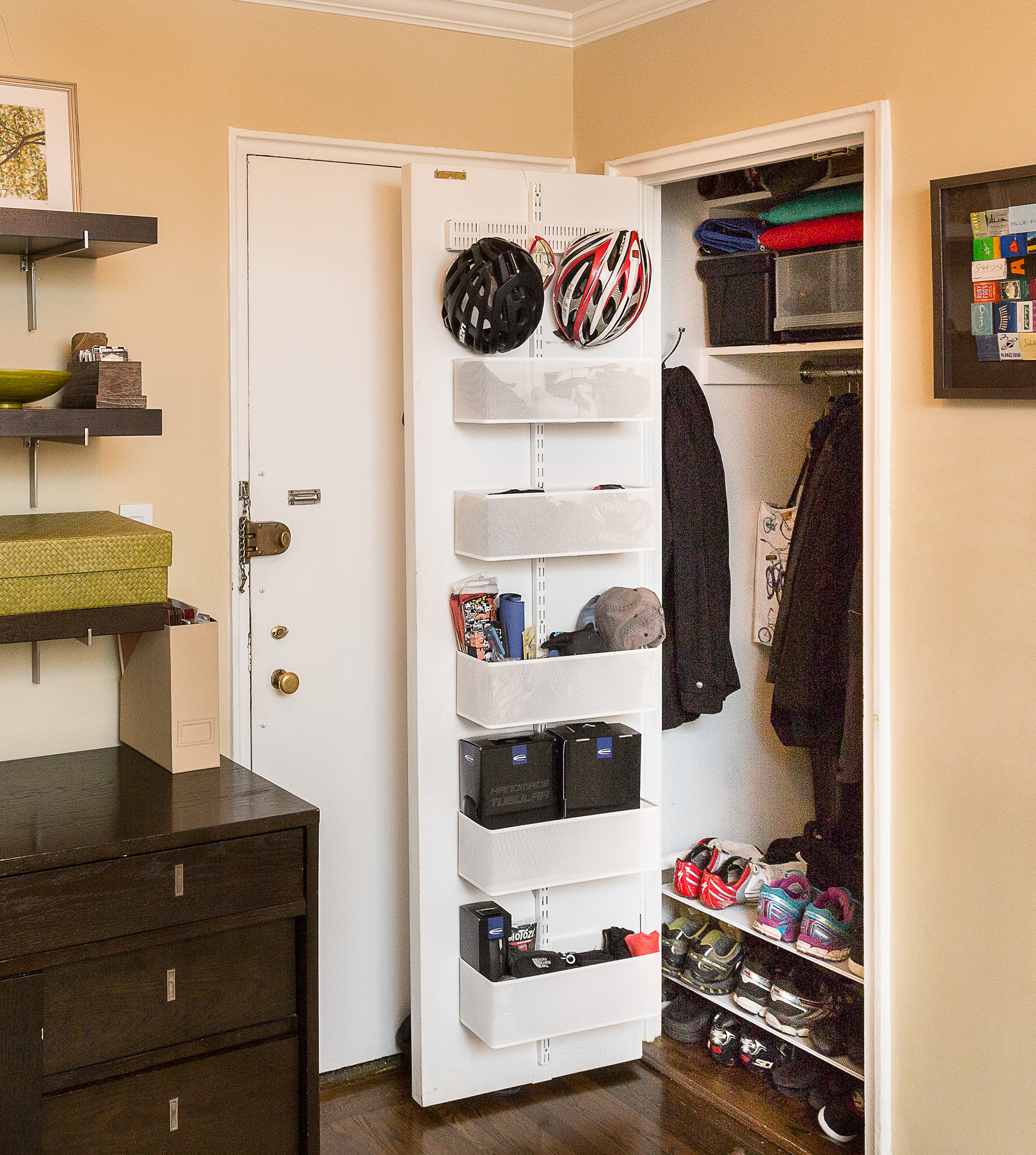 Storage Solutions for Small Spaces | Home Organizing Ideas on Small Apartment Organization  id=90492