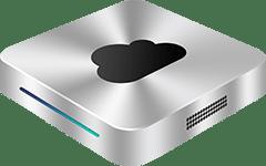 silver mini server