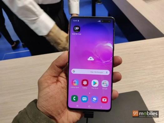 Samsung Galaxy S10 5G in pics22