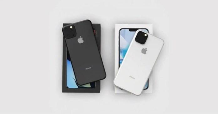 2019 Apple iPhone XI renders