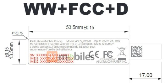 ASUS ZenFone 6Z FCC