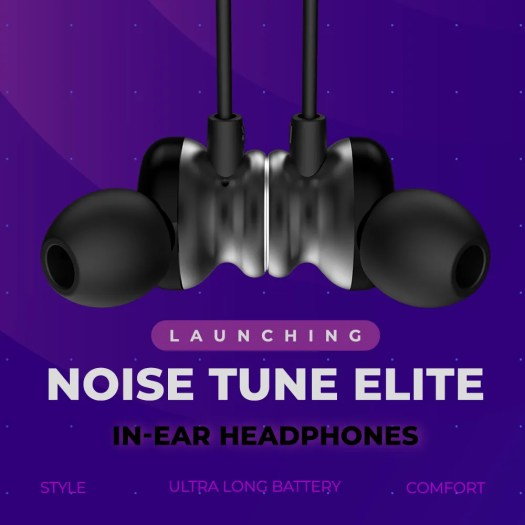 f6818a0e14e Noise TuneELITE wireless earphones with Siri and Google Assistant ...