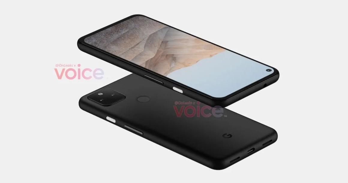 Pixel 5a design