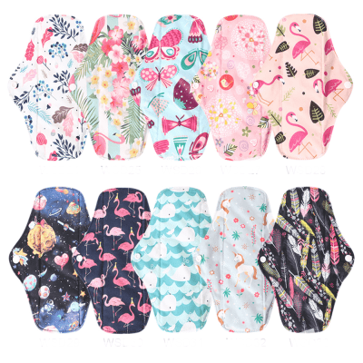 Reusable Bamboo Cloth Sanitary Pads