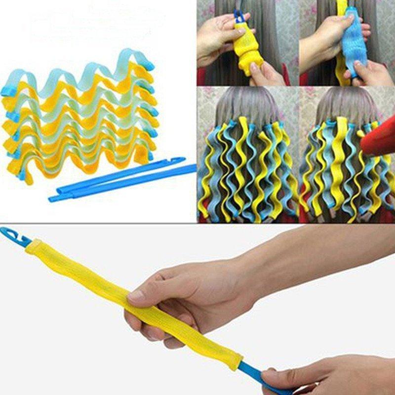 DIY 12PC Magic Hair Curler