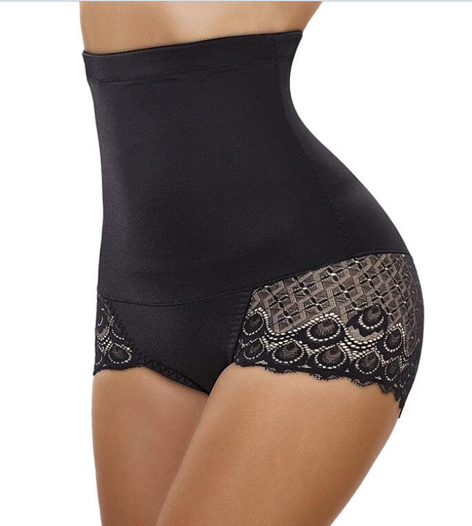 Women's High Waist Lace-Trim Butt Lifter