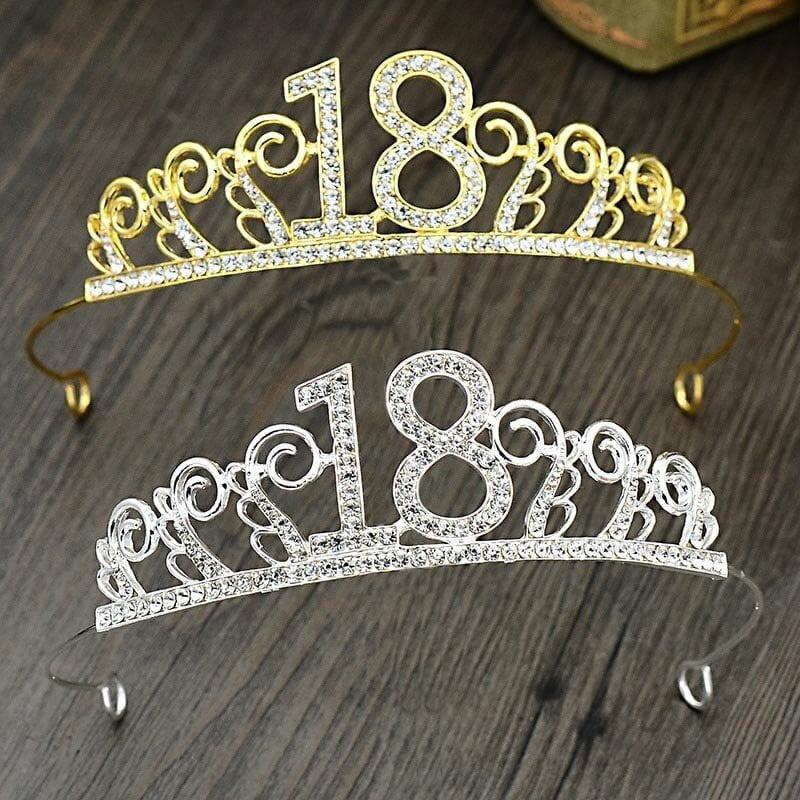Girls 18th Birthday Hairband Jewellery