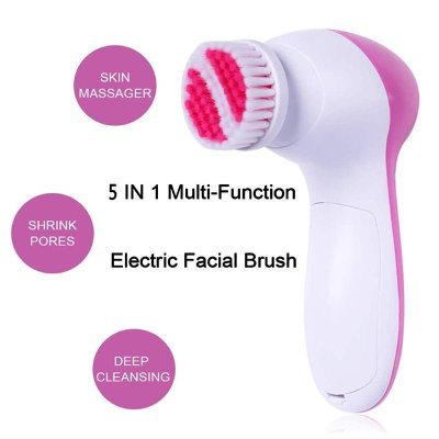Deep Pore Cleaning Waterproof Facial Brush