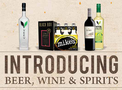 Introducing Beer, Wine, & Spirits