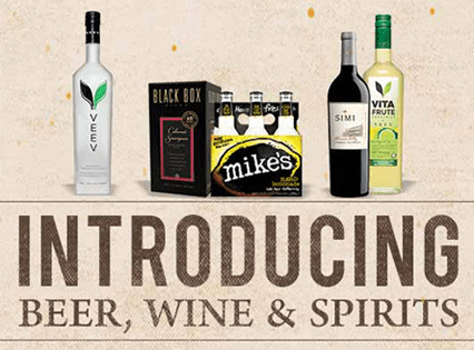 Introducing Beer, Wine, & Spirits