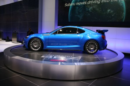 The Future Is Now Concepts At The 2011 La Auto Show Subaru Brz