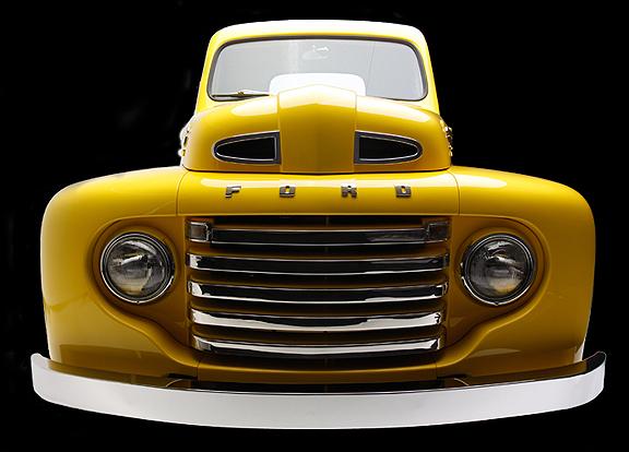 Jeffy Lilly's Gorgeous 1950 F1 RestoMod