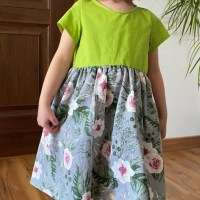 How to Sew a Girl's Dress No Sewing Pattern Required