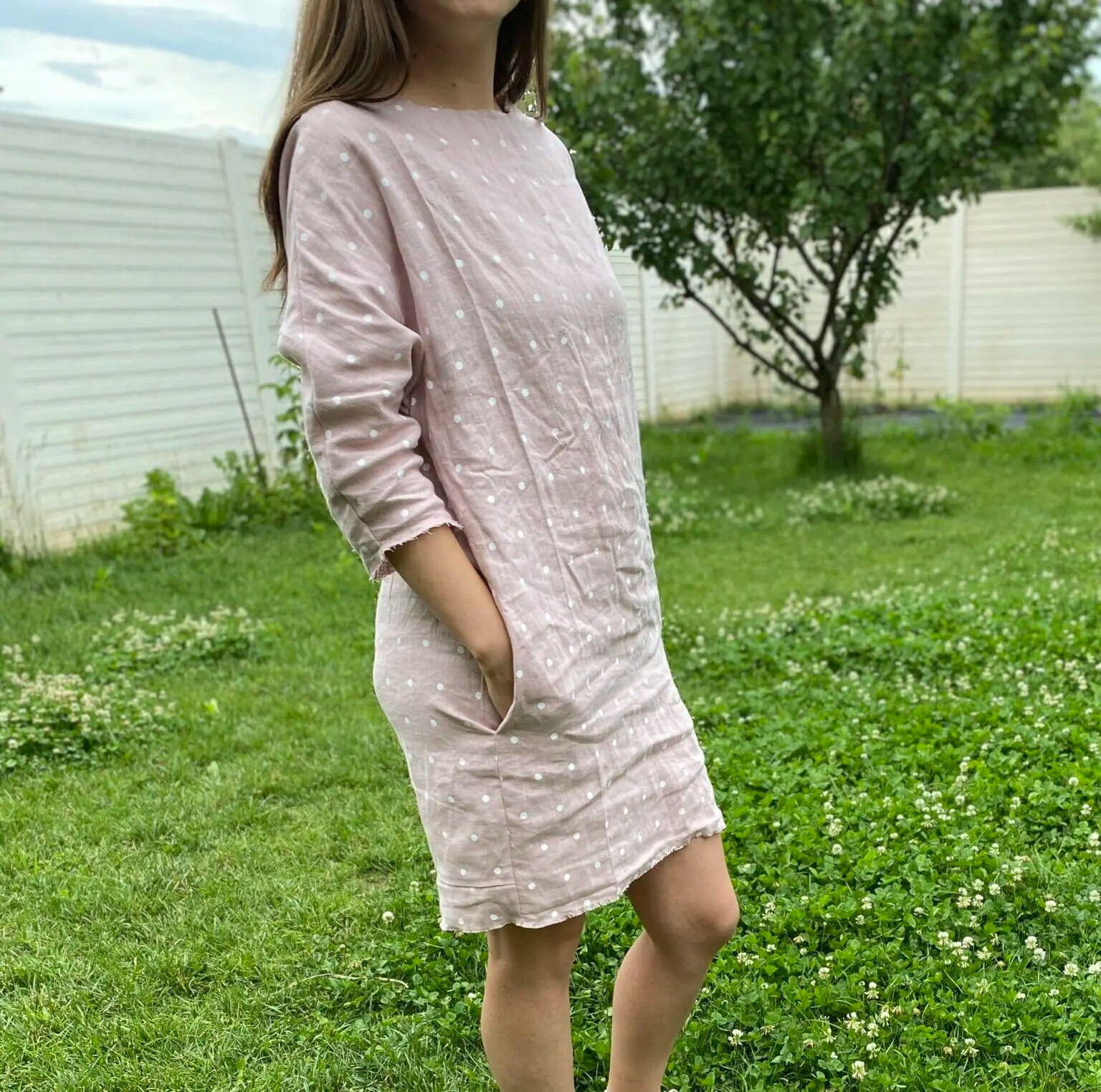 Linen Tunic Dress - DIY Sewing Tutorial