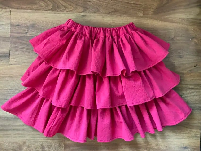 Sew a Tiered Ruffle Skirt in Any Size