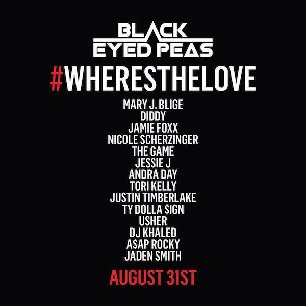 Image result for black eyed peas where is the love remake
