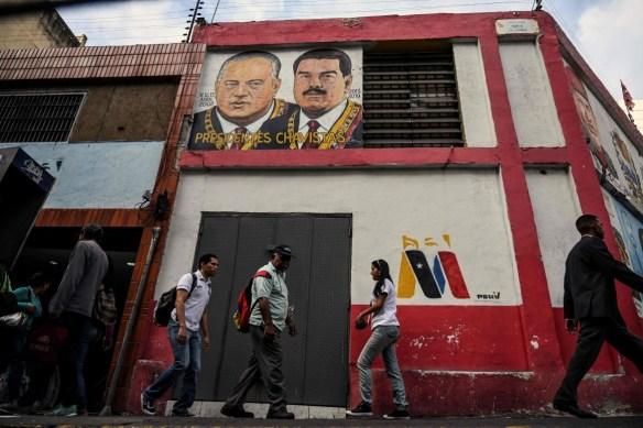 Una via di Caracas
