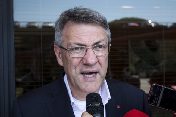 Il segretario generale della Cgil, Maurizio Landini