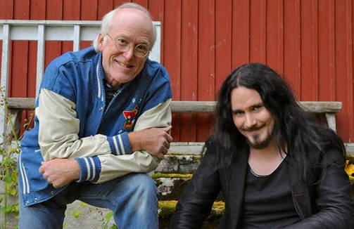 Don Rosa y Tuomas Holopainen