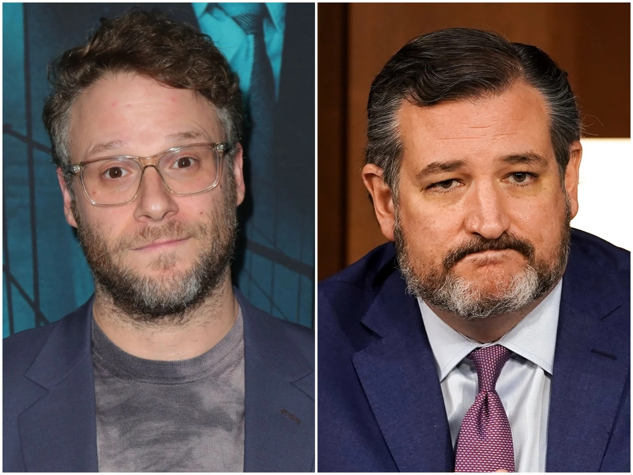 Seth Rogen dubs Ted Cruz a 'white supremacist fascist' in Twitter clash |  The Independent