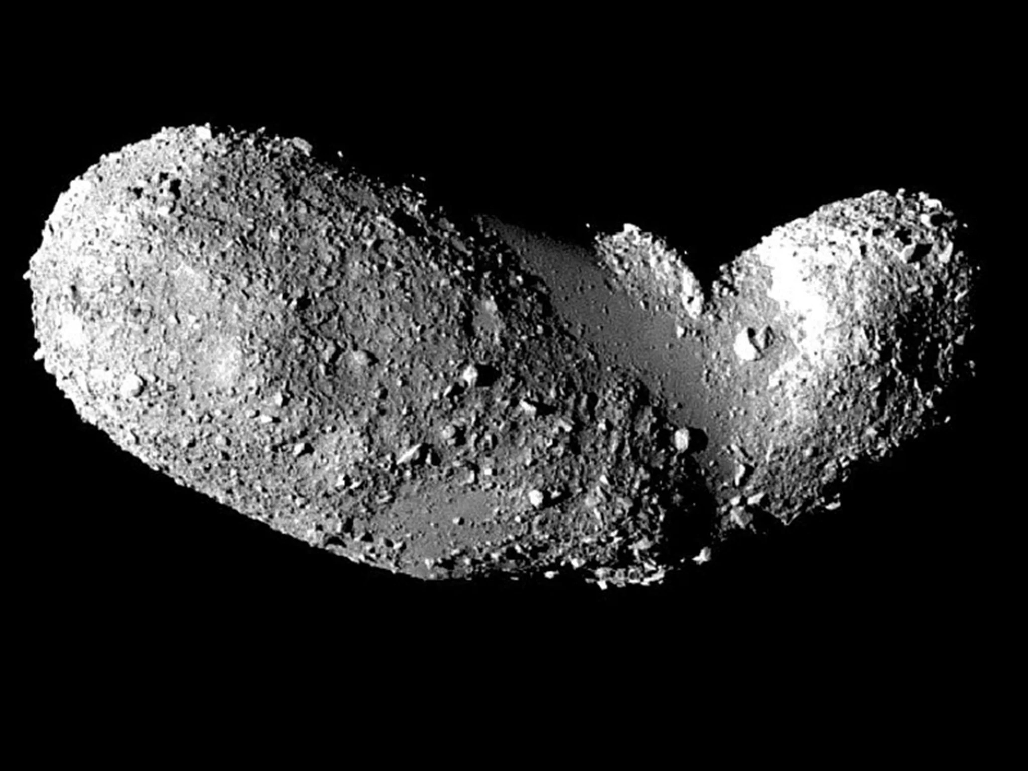 Scientists shocked water and organic matter found on an asteroid for the first time