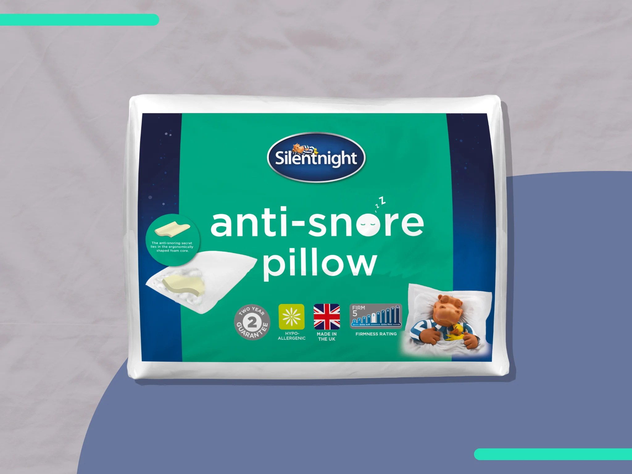 silentnight anti snore pillow review