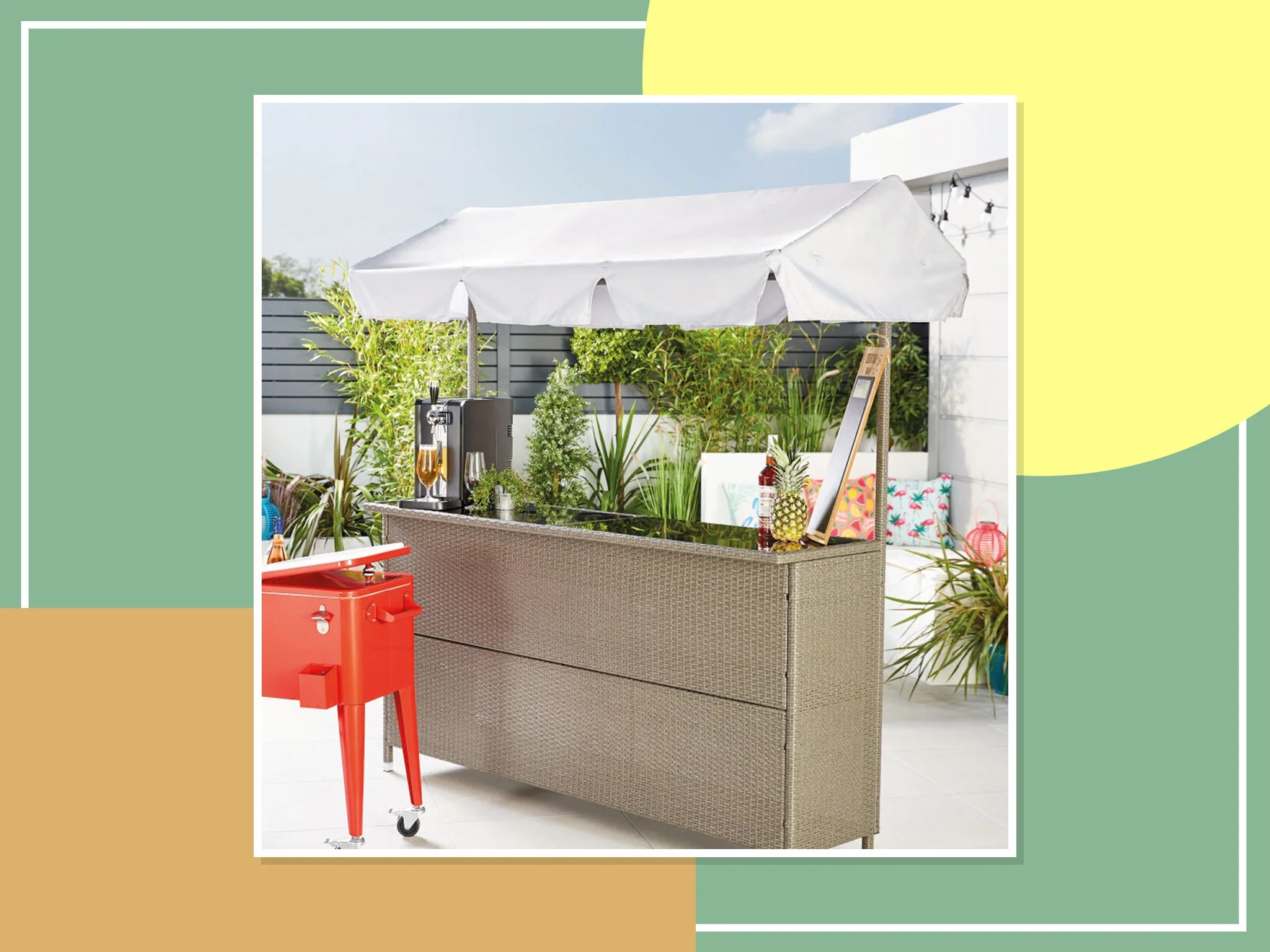 aldi s tiki bar is here to upgrade your