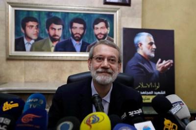 Ex-Iran parliament speaker registers to run for president Dubai Tehran Atlantic Council Ayatollah Ali Khamenei Hassan Rouhani