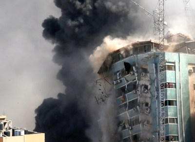 'Shocking and horrifying': Israel destroys AP office in Gaza Qatar Benjamin Netanyahu Joe Biden Hamas White House