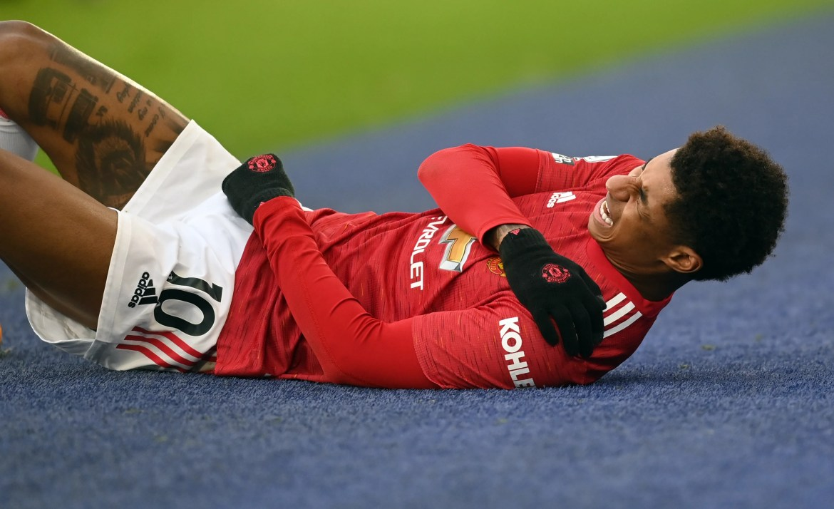 Marcus Rashford may be out until October after deciding to have shoulder  surgery   The Independent