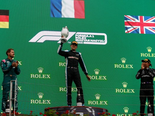 Hungarian Grand Prix result: Esteban Ocon claims first F1 win after opening-lap chaos takes out five cars 2