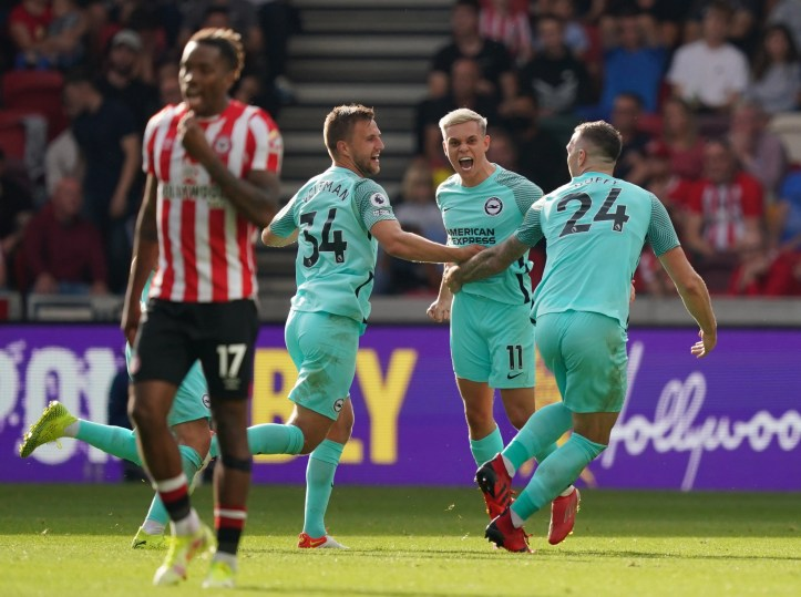 Brighton's Trossard broke Brentford hearts with an injury-time winner | Brighton vs Leicester